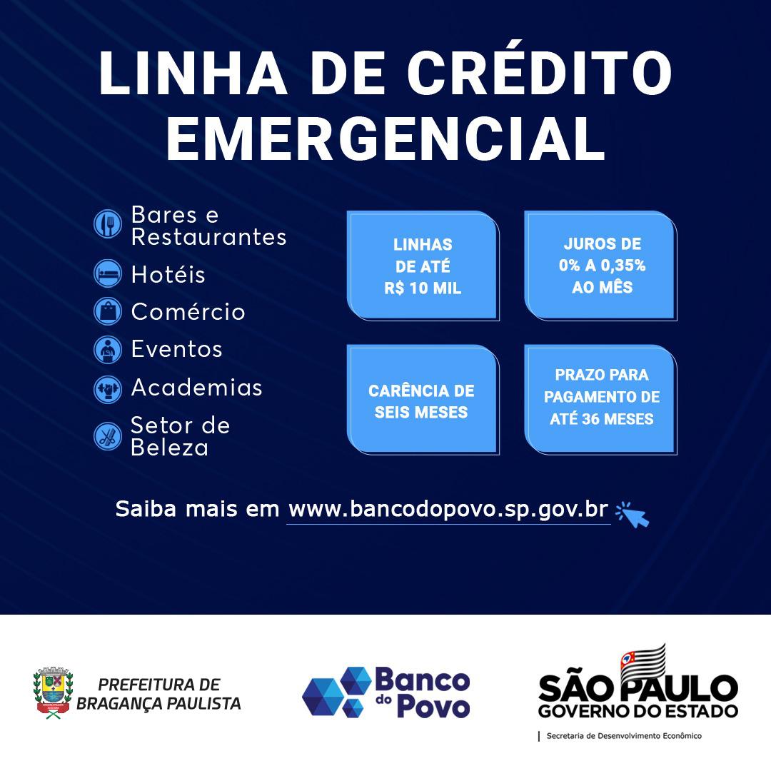 Empreendedores formais e informais têm acesso a crédito do Banco do Povo em Bragança Paulista