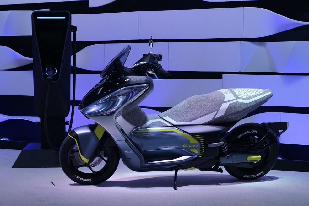 Yamaha E01 exhibited at Tokyo Salon - Photo: Rafael Miotto / G1