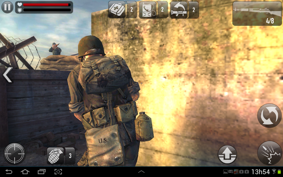 download frontline commando game for android