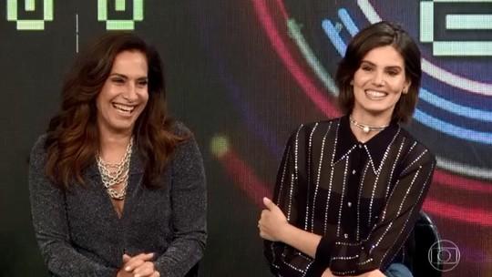 Camila Queiroz e Totia Meireles são classificadas para a semifinal do 'Super Ding Dong'