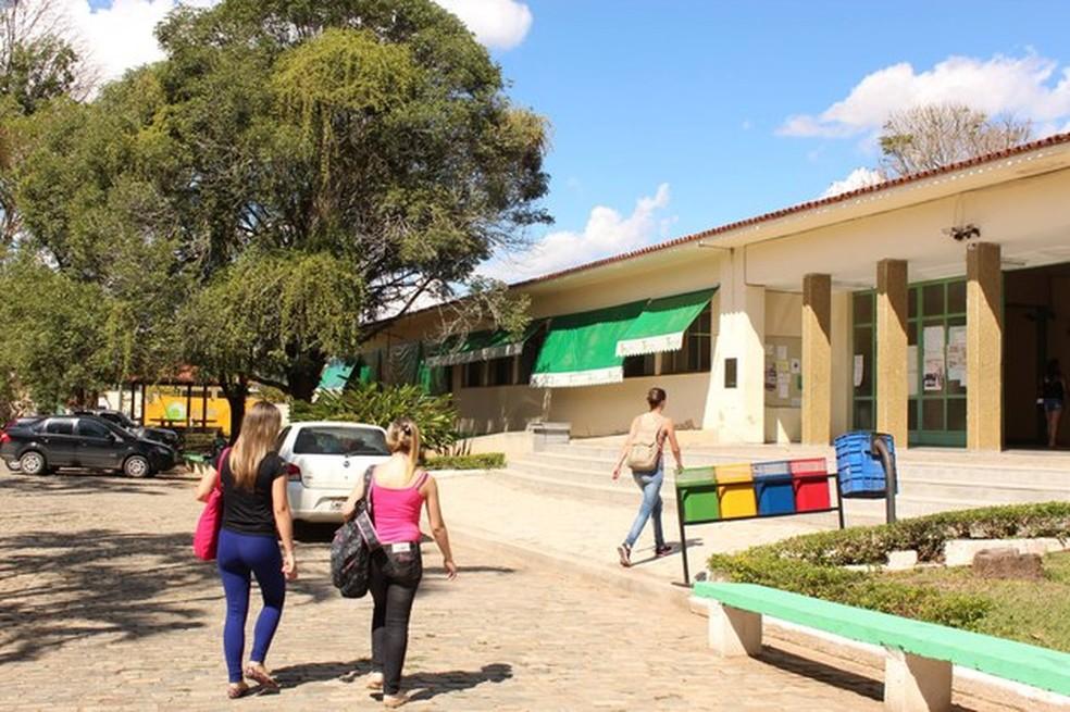Campus do IF Sudeste em Rio Pomba — Foto: Assessoria/Divulgação