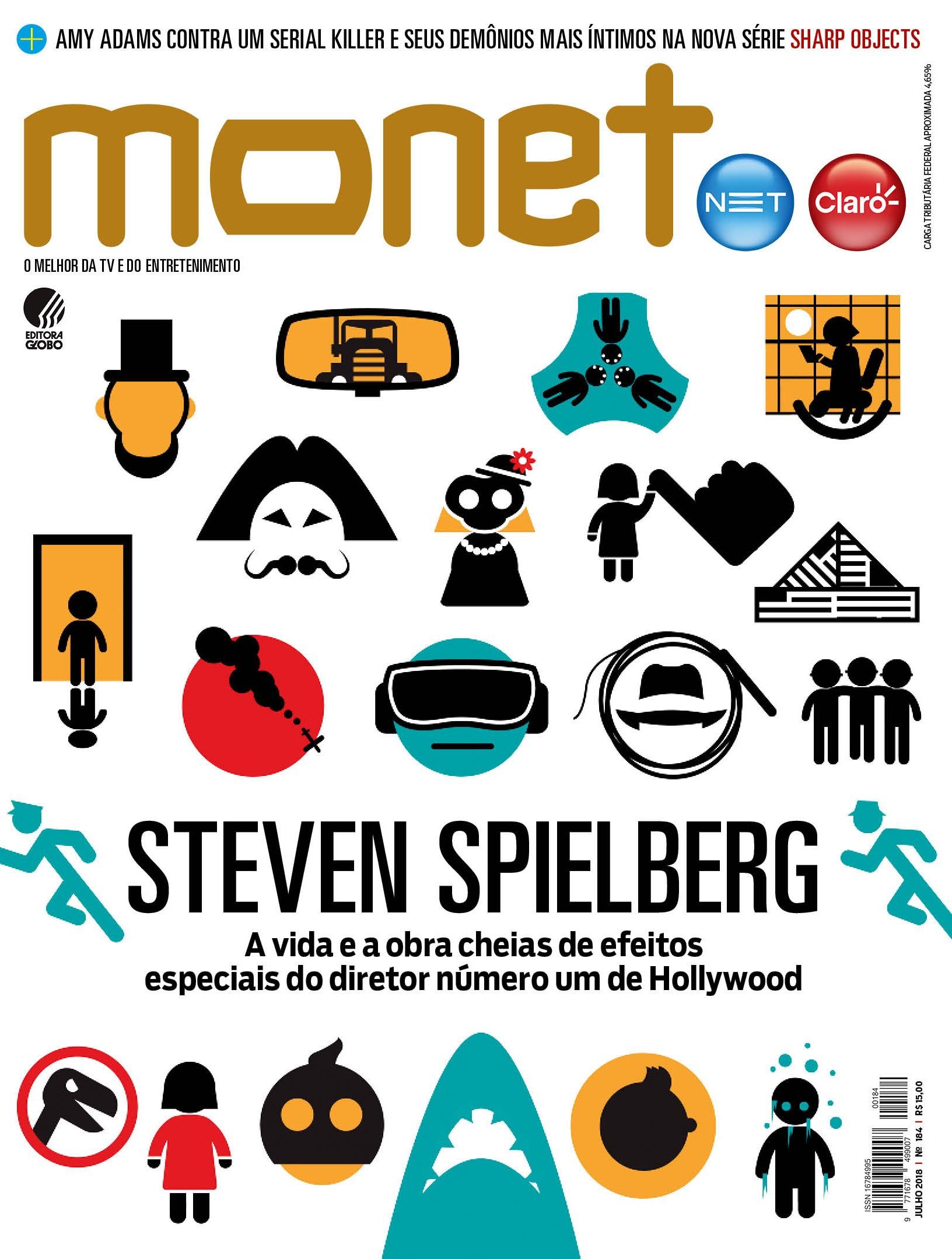 Revista Monet - Edição 184 - Julho/2018 (Foto: Revista Monet)