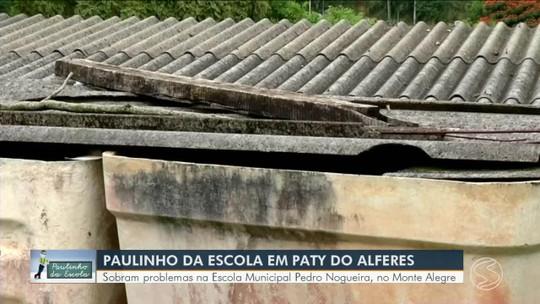 Paulinho da Escola vai até Paty do Alferes conferir reclamação
