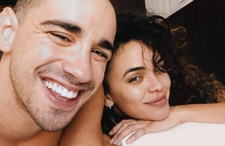 Os atores Giovana Cordeiro e Giuliano Laffayette também estão morando juntos: 'É bom ter uma pessoa por perto para desabafar' Arquivo pessoal