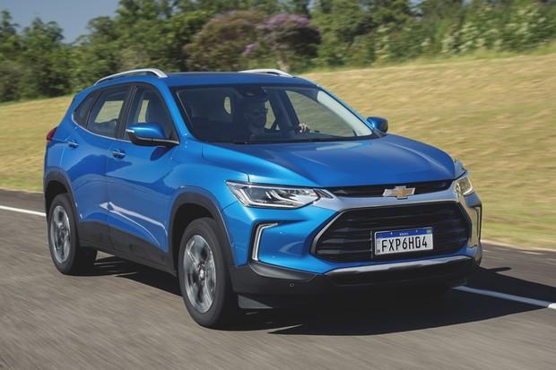 Novo Chevrolet Tracker 2020 (Foto: (Fábio Aro/Autoesporte))