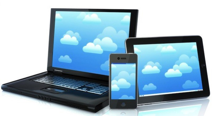 Computador nuvem (Foto: Pond5)