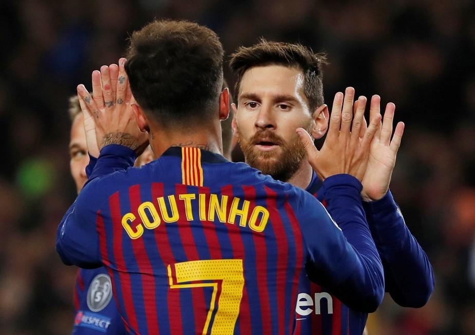 Elogiado por jornal, Coutinho admite má fase no Barcelona: