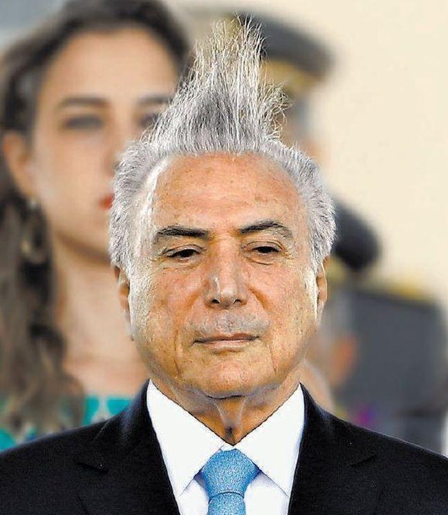 Michel Temer, presidente da República (Foto: Aílton Freitas / O Globo)