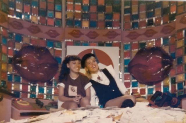 Tany Mary com Xuxa (Foto: Arquivo pessoal)