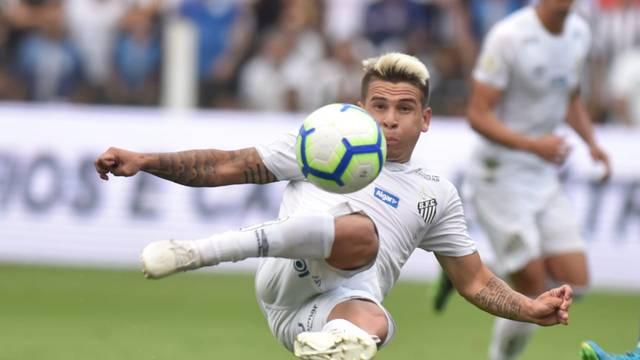 Soteldo cria a jogada do segundo gol do Santos