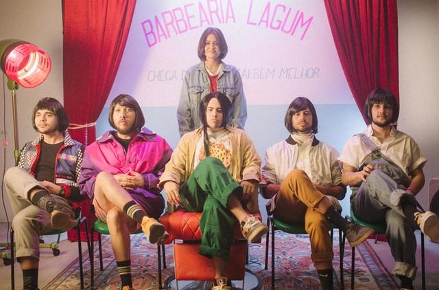 Giullia Buscacio no clipe da banda Lagum (Foto: Alessa Semião)