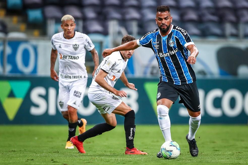 Grêmio x Atlético-MG Arena Brasileirão Maicon — Foto: Lucas Uebel / Grêmio FBPA