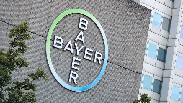 Logo da Bayer (Foto: Sean Gallup/Getty Images)
