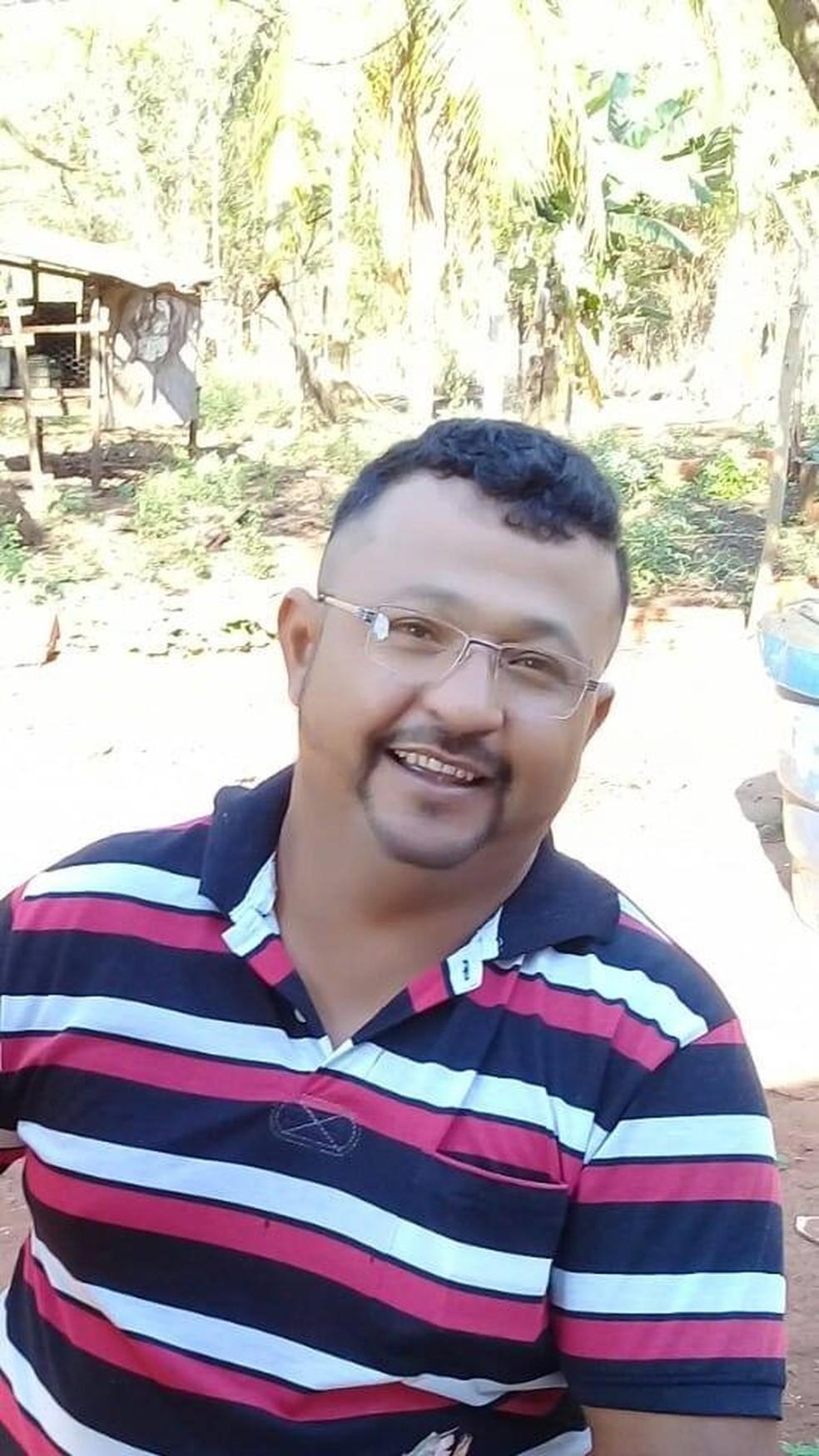 Fábio Leão morreu em acidente com a carreta que conduzia — Foto: Redes sociais