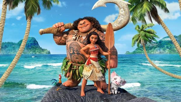 Moana, princesa da Disney, vira tema de moda e looks praianos são os hits (Foto: Reprodução da Disney)