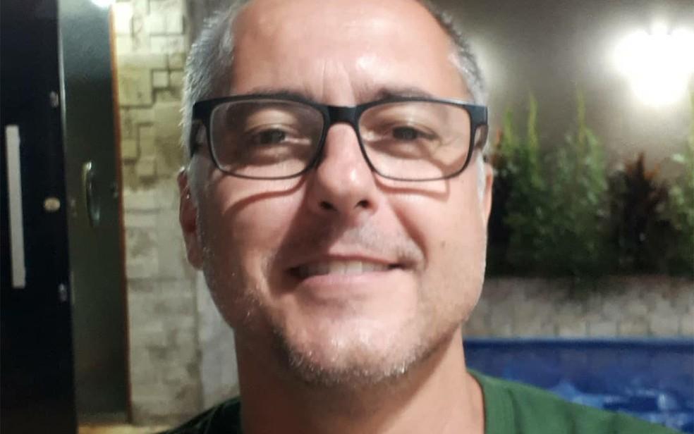 Mauro César Virgílio de Assis, sargento da PM, morreu baleado em Orlândia, SP  — Foto: Redes Sociais