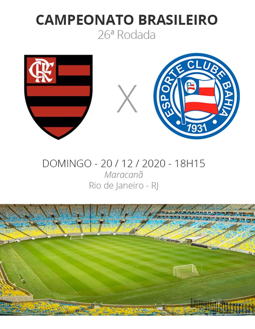 Flamengo x Bahia: veja onde assistir, escalações, desfalques e arbitragem |  brasileirão série a | ge