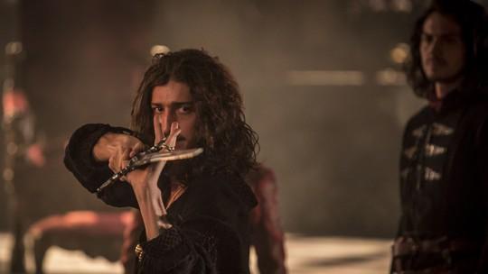 Reveja as cenas mais hilárias de Rodolfo em 'Deus Salve o Rei'