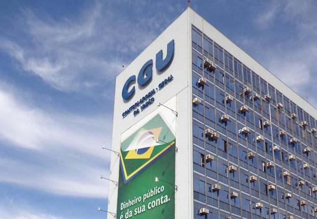 Fachada da Controladoria Geral da União (CGU) (Foto: Divulgação)