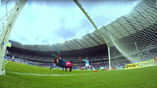 """Grêmio deve ter ataque """"ideal"""" com Luan e André pela 1ª vez contra o Atlético-PR"""