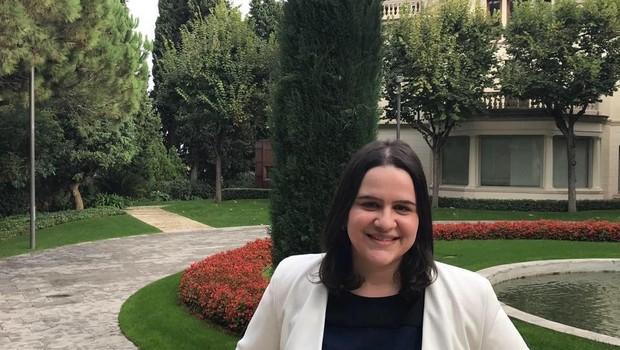 Thaís Baccarelli Chéles, turma de 2018 do MBA (Foto: Arquivo pessoal)