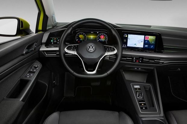 Volkswagen Golf 8 (Foto:  Divulgação)