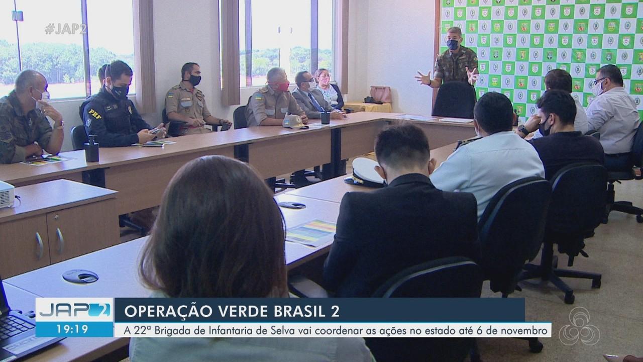 Operação Verde Brasil 2: exército coordena ações no Amapá até 6 de novembro