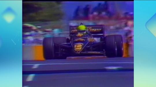 """Reginaldo Leme relembra """"corrida maluca"""" de Senna na Austrália em 1985"""