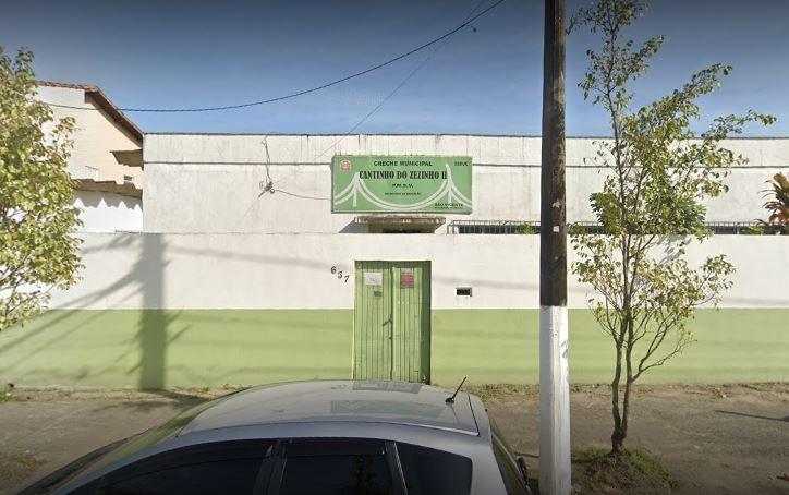 Creche de São Vicente tem fiação elétrica furtada durante madrugada