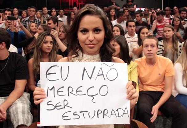 Nana Queiroz (Foto: GShow)