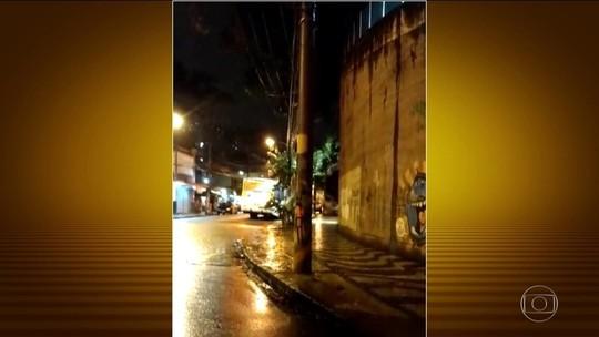 Moradores relatam madrugada de tiroteio no Centro do Rio