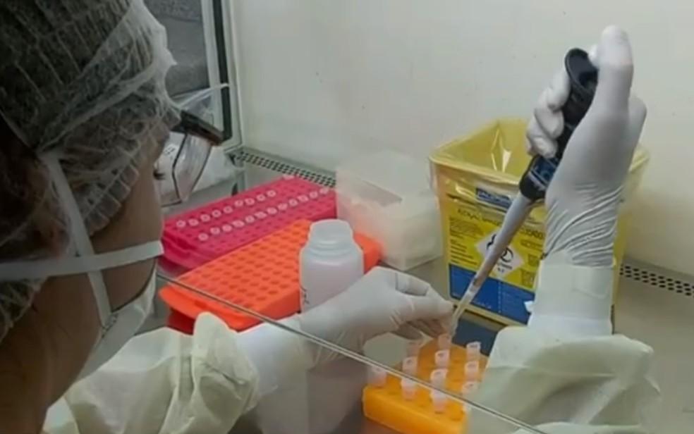 Goiás já registra mais de 100 casos confirmados de Covid-19 — Foto: Reprodução/TV Anhanguera