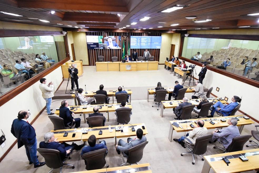 Plenário da Assembleia Legislativa do RN/ALRN  — Foto: João Gilberto