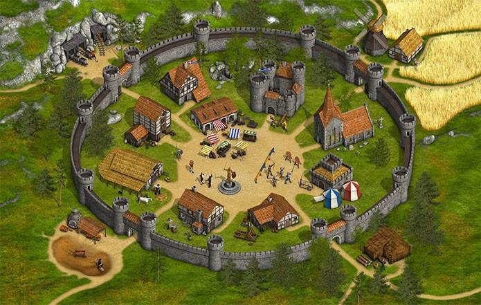 Resultado de imagem para jogo tribal wars