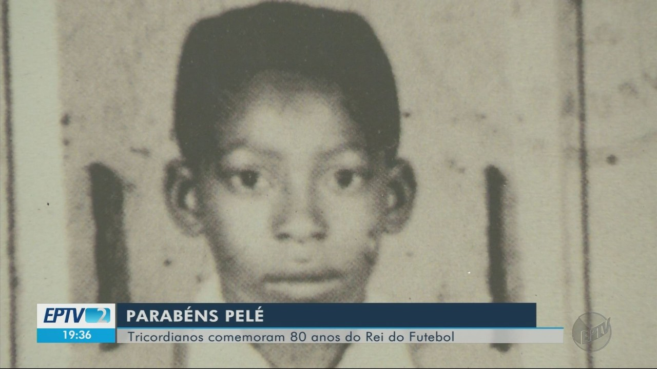 Solenidade marca aniversário de 80 anos de Pelé em Três Corações