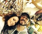 Graziela Schmitt e o namorado, Paulo Leal | Arquivo pessoal