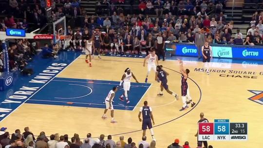 Clippers batem os Knicks e encaminham classificação no Oeste  para os playoffs da NBA
