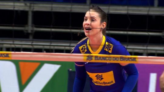 Brasil enfrenta Argentina em amistoso de vôlei feminino com o retorno de Camila Brait