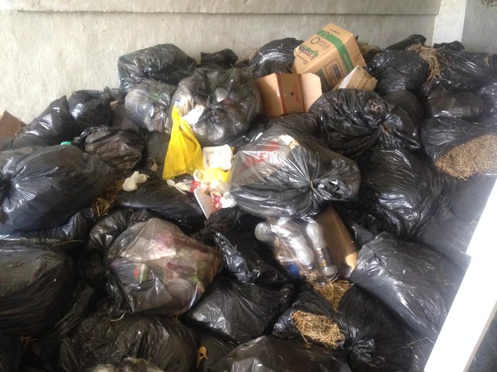 Projeto da Ubam pretende instalar usinas de reciclagem de lixo nos municípios do Amapá (Foto: John Pacheco/G1)