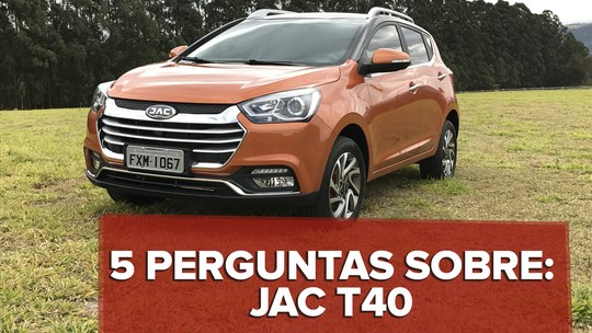 Jac T40: primeiras impressões