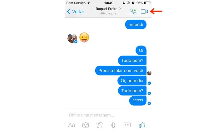Tudo sobre o Facebook Messenger - conversando