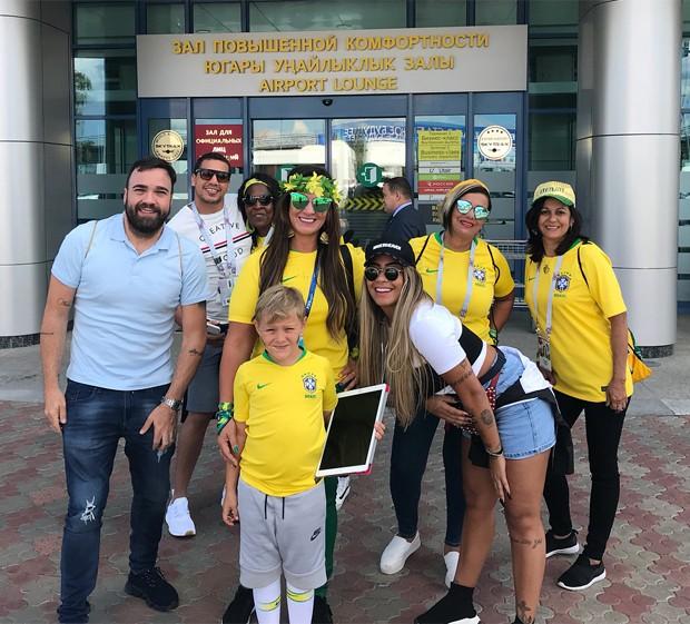 Família de Neymar (Foto: Reprodução/Instagram)