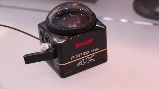 PixPro SP360 4K: testamos nova câmera de ação da Kodak que grava em 360°