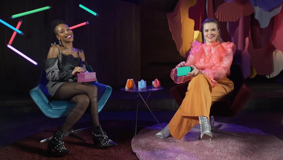 Marcela Mc Gowan e Karol Conka revelam o que as fazem brochar em episódio da série 'Prazer, Feminino'. | Prazer, Feminino | gnt