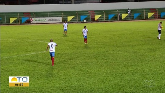 Araguaína perde quatro pontos e fica com saldo negativo no Campeonato Tocantinense