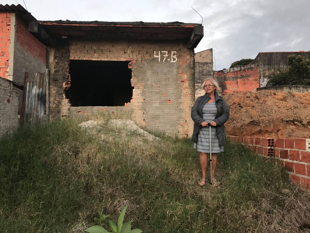 Idosa ficou sem casa e teve uma antiga propriedade refeita por voluntários em Sorocaba (Foto: Arquivo pessoal)