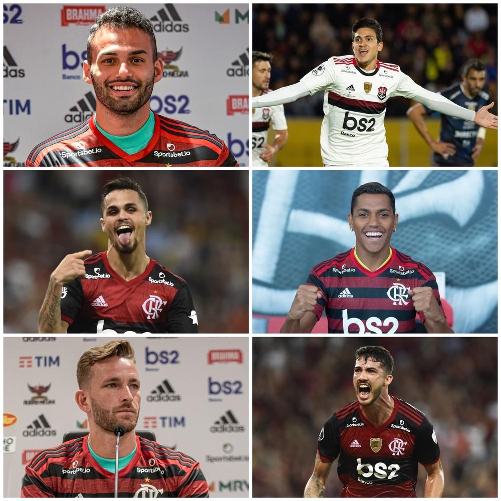 Confira como foram os reforços do Flamengo antes da parada
