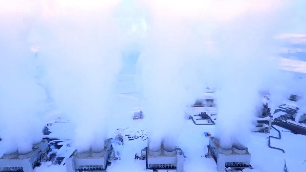 Chegamos ao limite dos níveis de dióxido de carbono (CO2) na atmosfera (Foto: BBC)