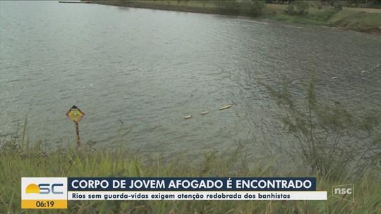 Duas mortes por afogamento são registradas no Oeste e Serra de SC; bombeiros alertam para riscos