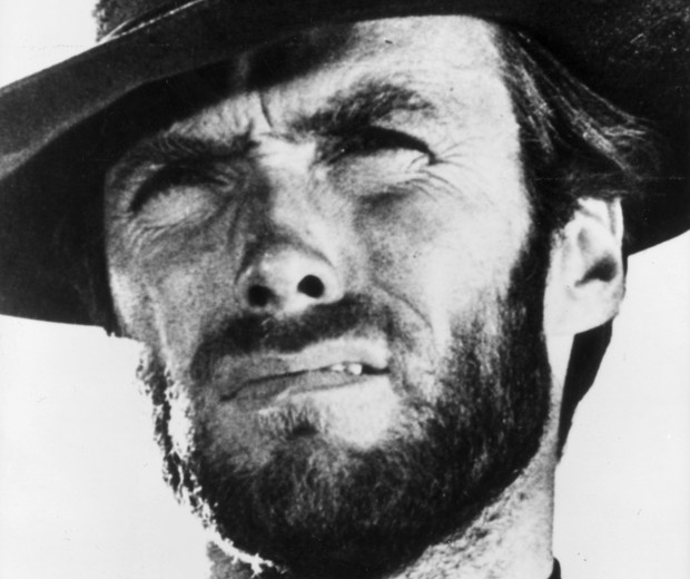 Clint Eastwood na década de 60 (Foto: Getty Images)